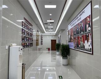 郑州肤康皮肤病专科医院一楼走廊