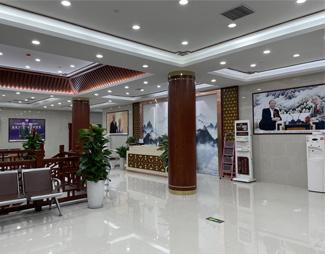 郑州肤康皮肤病专科医院二楼大厅
