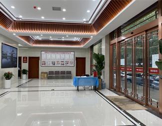 郑州肤康皮肤病专科医院一楼大厅